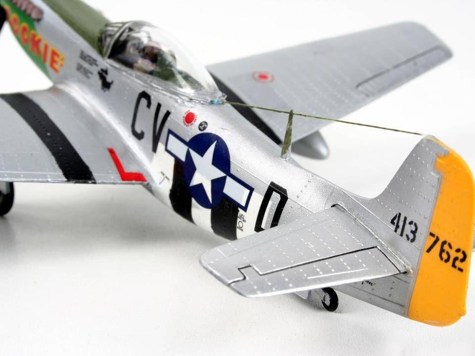 Сглобяем модел на военен самолет Revell - P-51D Mustang (04148) - 5