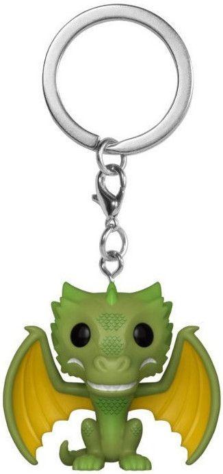 Ключодържател Funko Pocket Pop! Game of Thrones - Rhaegal, 4 cm - 1