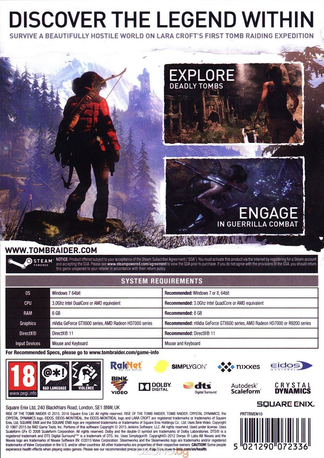 Rise of the Tomb Raider (PC) - 6