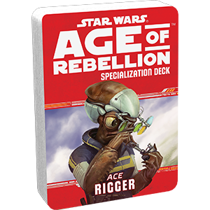 Допълнение за ролева игра Star Wars: Age of Rebellion - Rigger Specialization Deck - 1