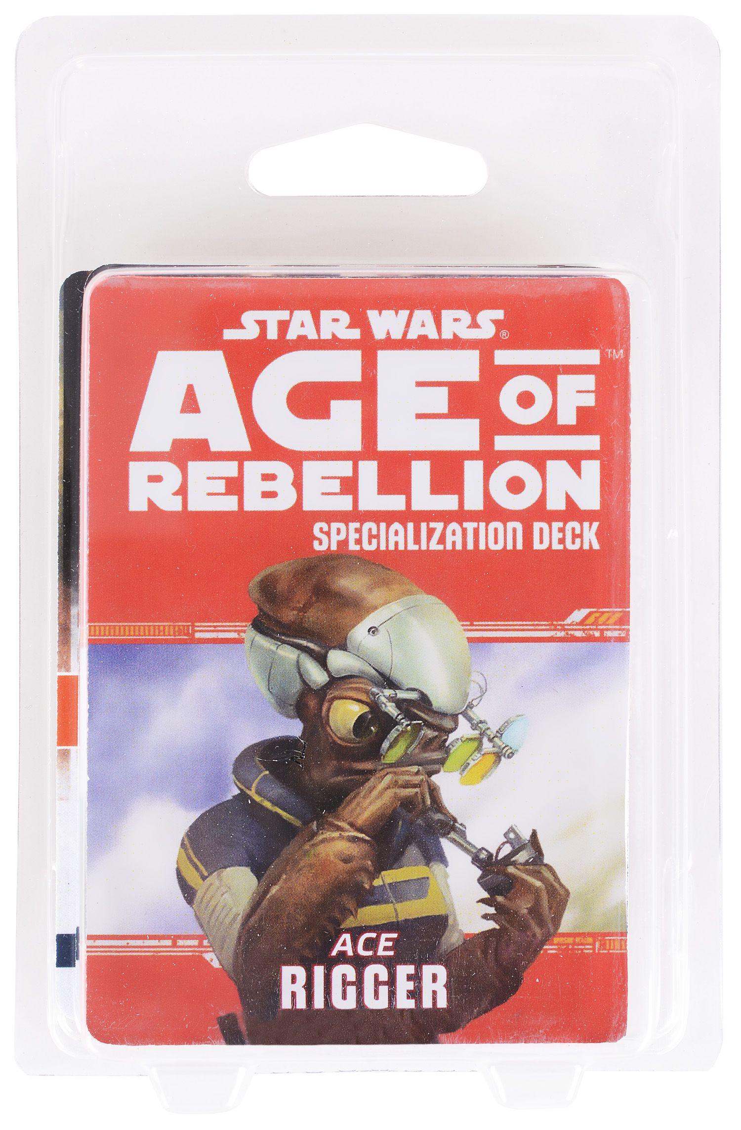Допълнение за ролева игра Star Wars: Age of Rebellion - Rigger Specialization Deck - 2