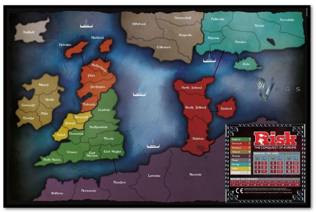 Настолна игра Risk - Vikings, стратегическа - 2