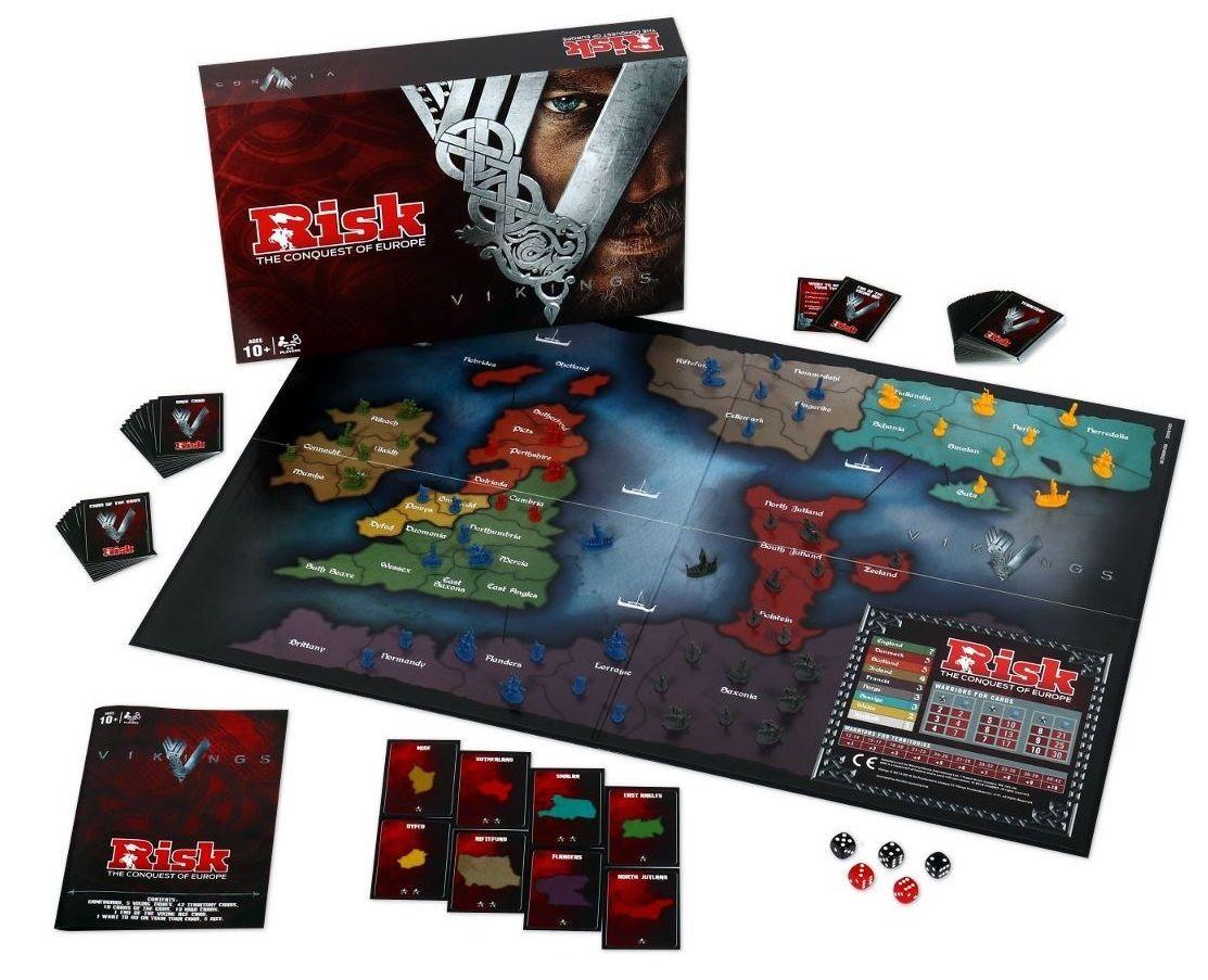 Настолна игра Risk - Vikings, стратегическа - 4