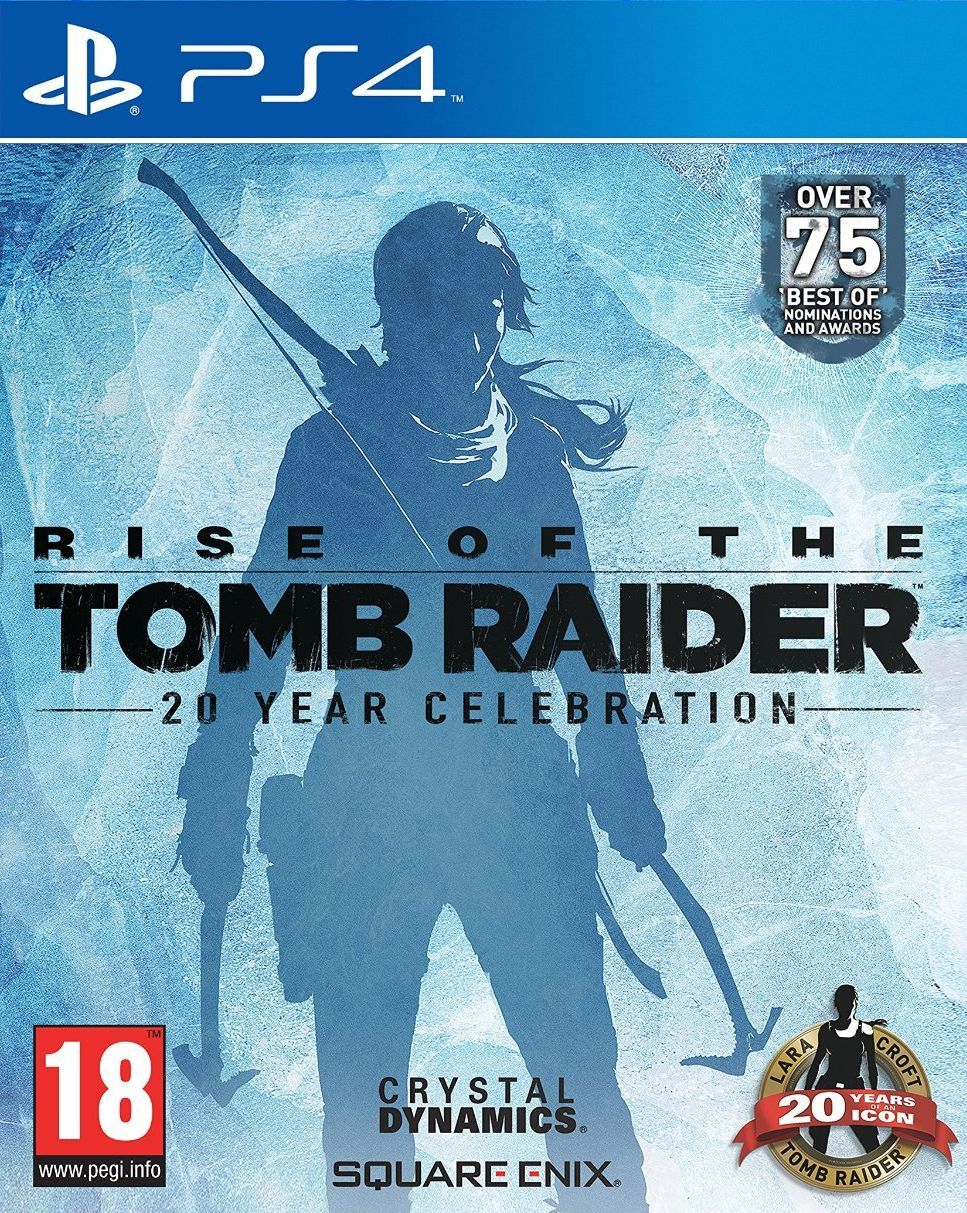 Rise of the Tomb Raider - 20 Year Celebration (PS4) - 1