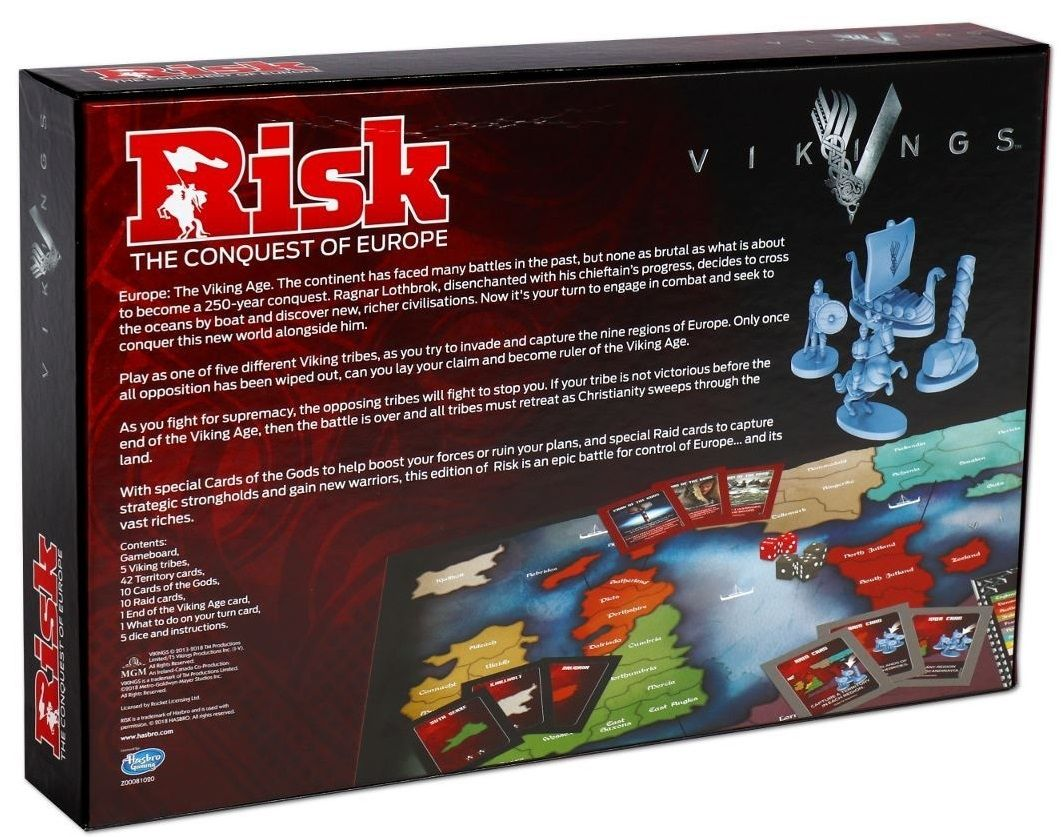Настолна игра Risk - Vikings, стратегическа - 3