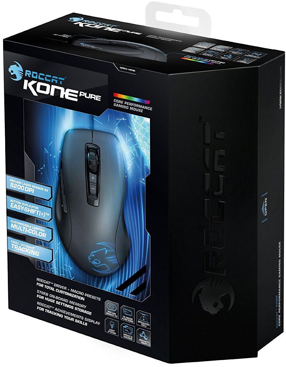 Гейминг мишка ROCCAT Kone Pure SE - оптична - 2