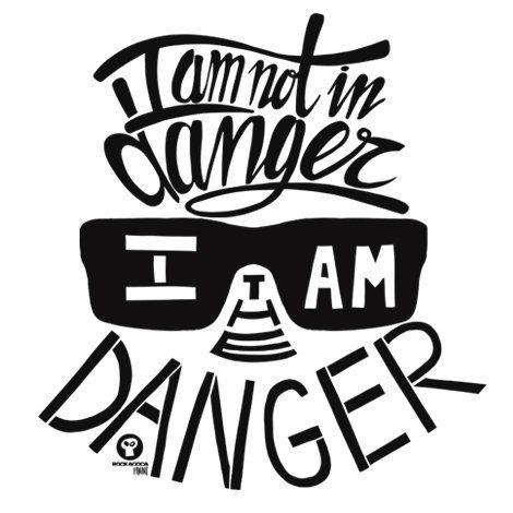 Тениска RockaCoca The Danger, бяла, размер XL - 2