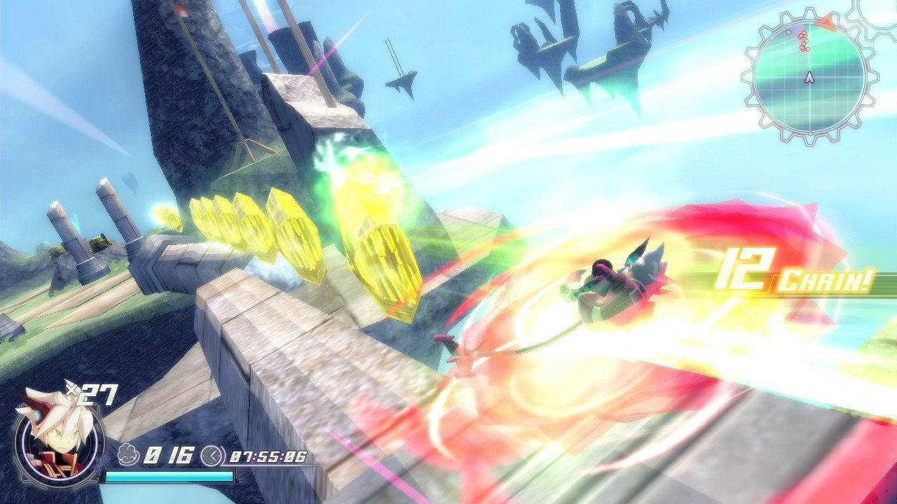 Rodea: The Sky Soldier (Wii U) - 5