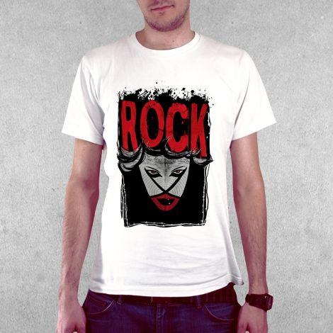 Тениска RockaCoca Rock, бяла, размер S - 2