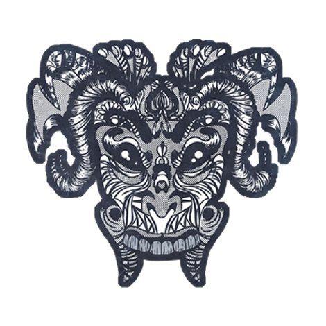 Тениска RockaCoca Mask, бяла, размер XL - 1