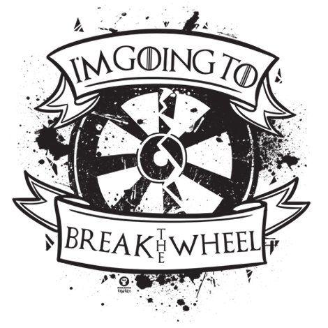 Тениска RockaCoca The Wheel, бяла, размер XL - 2
