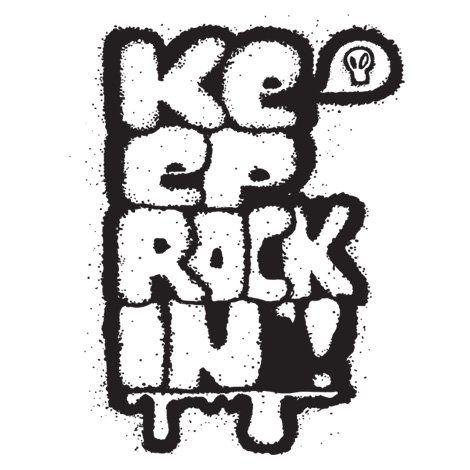 Тениска RockaCoca Rockin', бяла, размер S - 1