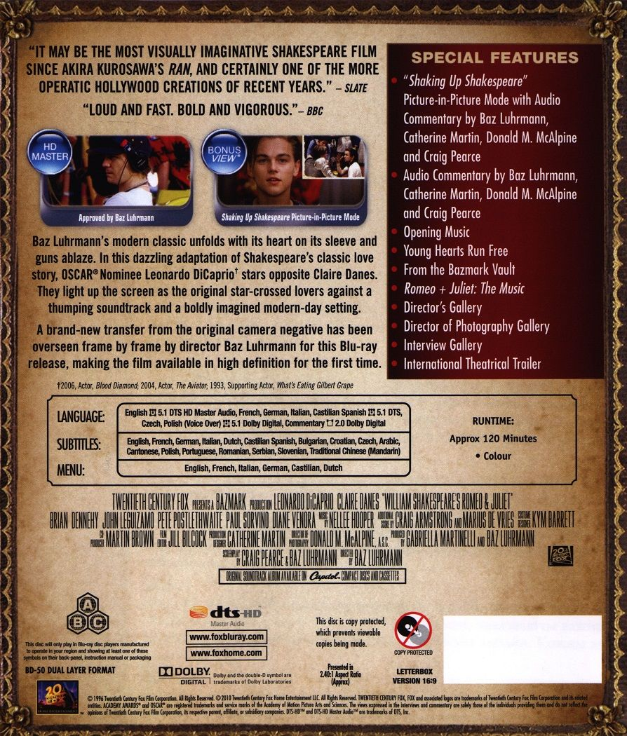 Ромео и Жулиета (Blu-Ray) - 2
