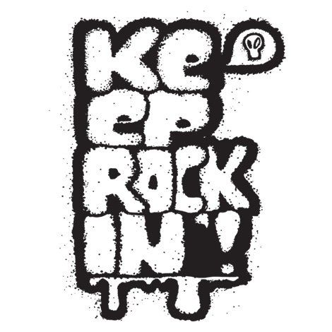 Тениска RockaCoca Rockin', бяла, размер L - 1
