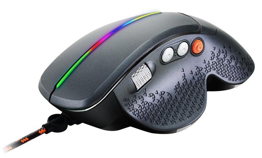 Гейминг мишка Canyon - CND-SGM12RGB, черна - 3