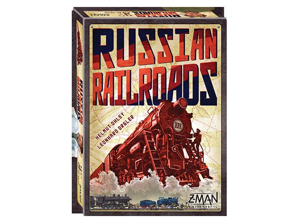 Настолна игра Russian Railroads - 1