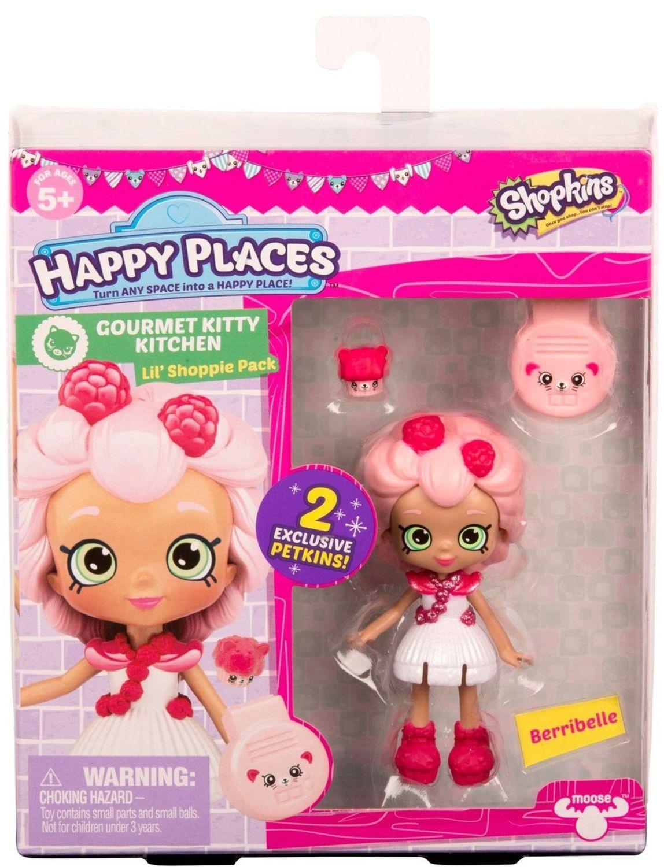 Фигурка Shopkins Happy Places - Berribelle, Серия 3 - 1