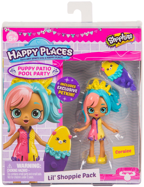 Фигурка Shopkins Happy Places - Coralee, Серия 4 - 1