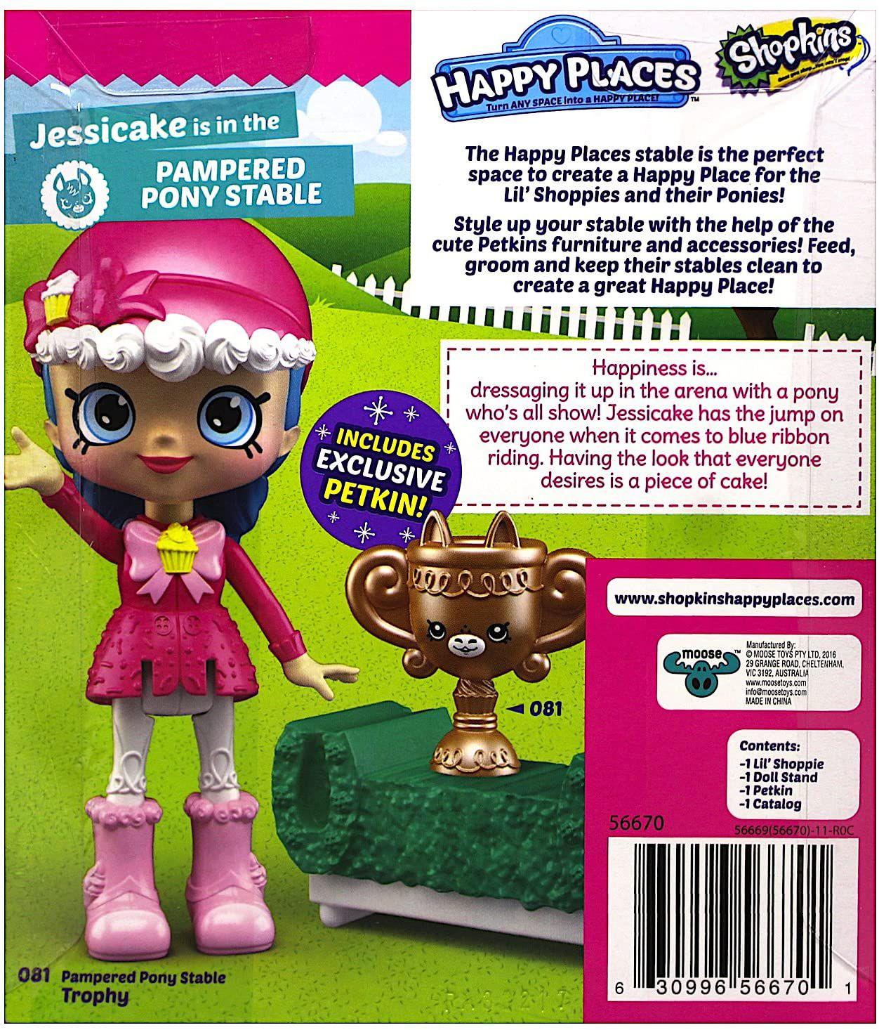 Фигурка Shopkins Happy Places - Jessicake, Серия 4 - 3