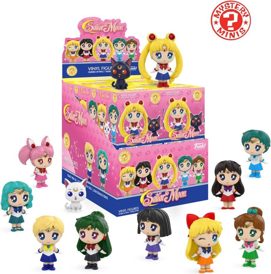 Мини фигура Funko: Sailor Moon Series 2 - Mystery Mini Blind Box - 1