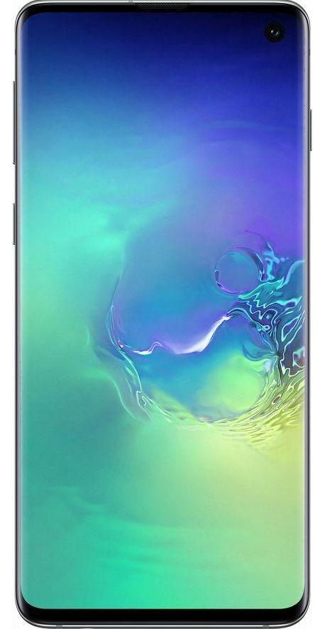 "Смартфон Samsung SM-G973F Galaxy S10 - 6.1"", 128 GB, зелен - 1"