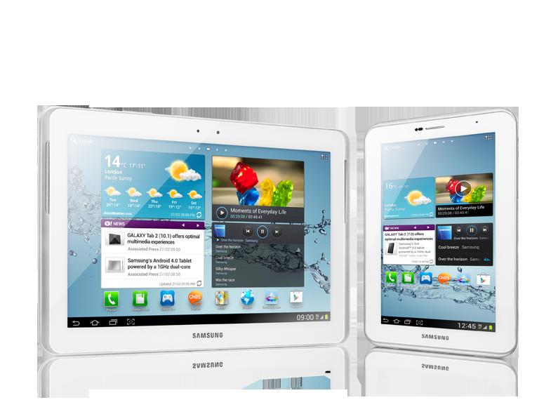 """Samsung GALAXY TAB 2 7.0"""" (GT-P3100) - 8"""