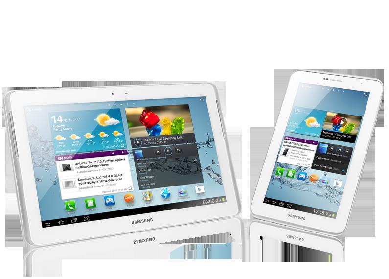 """Samsung GALAXY TAB 2 7.0"""" (GT-P3100) - 7"""