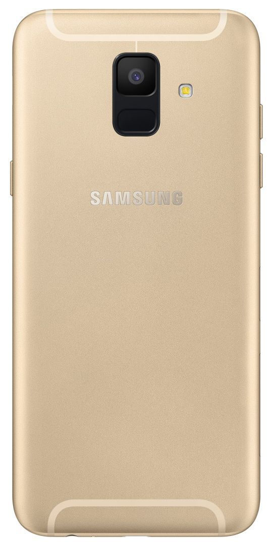 Смартфон Samsung GALAXY A6 2018 32GB Златист - 2