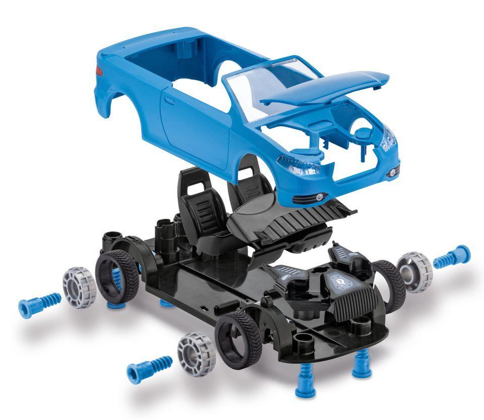 Сглобяем модел на състезателен автомобил Revell - Roadster  (00801) - 2