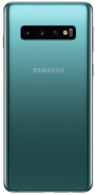 "Смартфон Samsung SM-G973F Galaxy S10 - 6.1"", 128 GB, зелен - 2"
