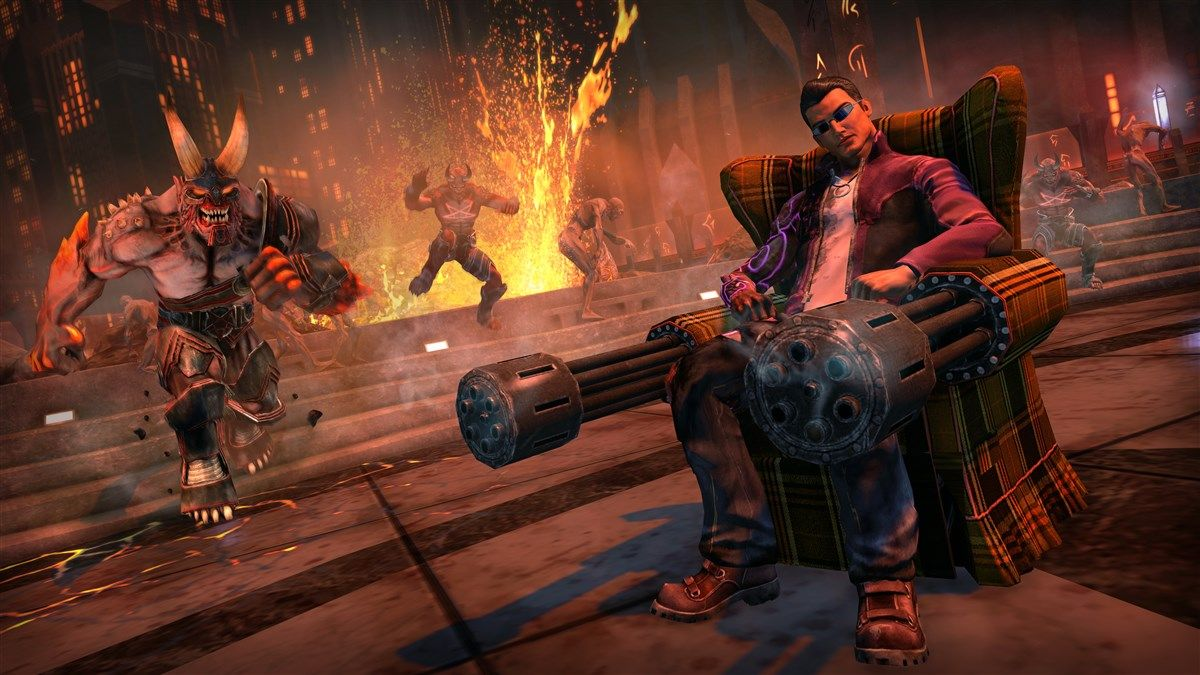 Saints Row IV Re-Elected & Gat Out Of Hell (PC) - 4