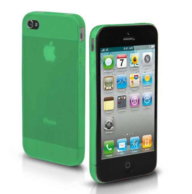 SBS Ultraslim Case за iPhone 5 -  зелен - 1