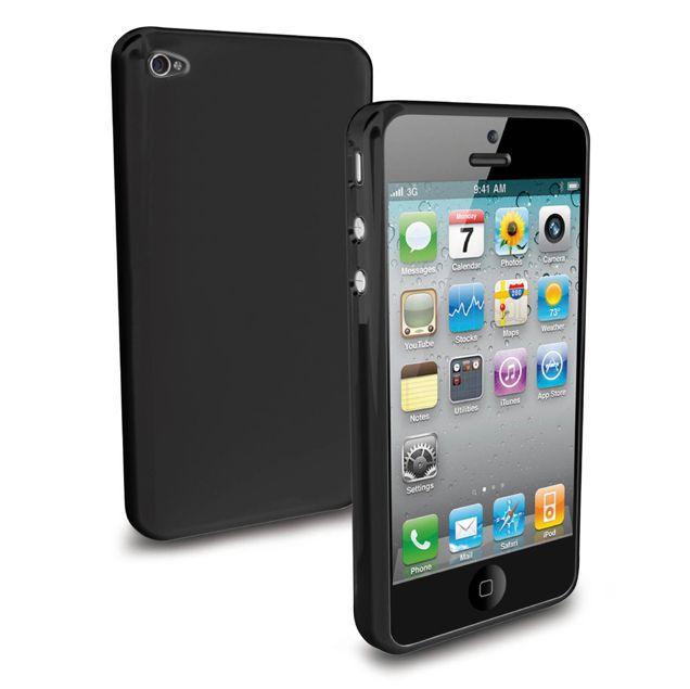 SBS Aero Case TPU за iPhone 5 -  черен - 1