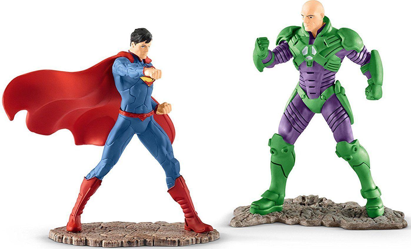 """Комплект фигурки Schleich от серията """"Лигата на справедливостта""""  - Супермен срещу Лекс Лутор - 1"""