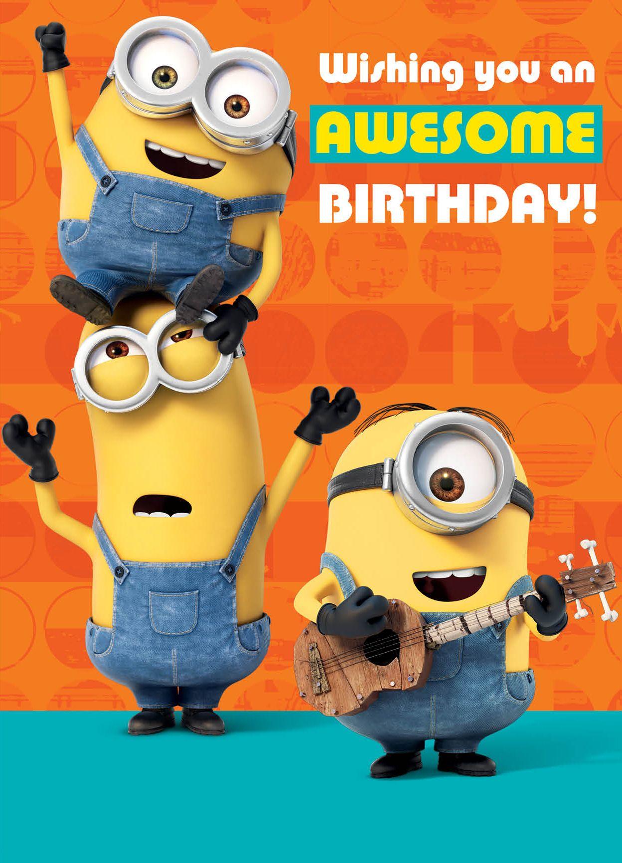 Музикална картичка Danilo - Minion Tickle: Birthday - 1