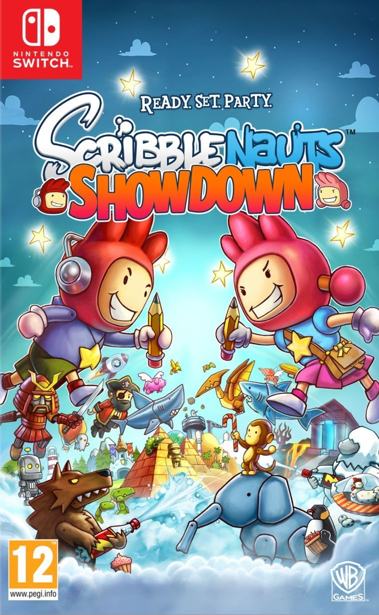 Scribblenauts Showdown (Nintendo Switch) - 1