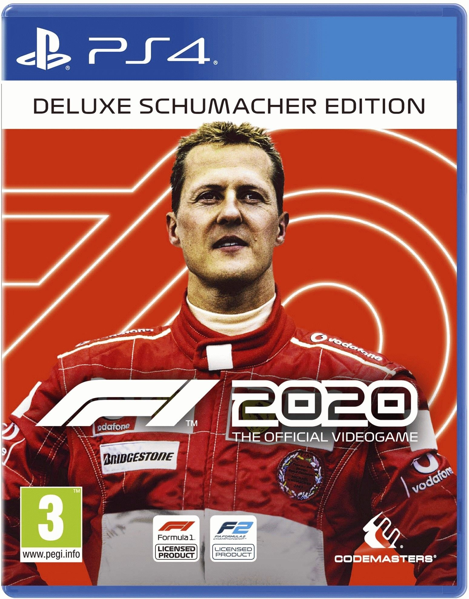 F1 2020 Deluxe - Schumacher Edition (PS4) - 1