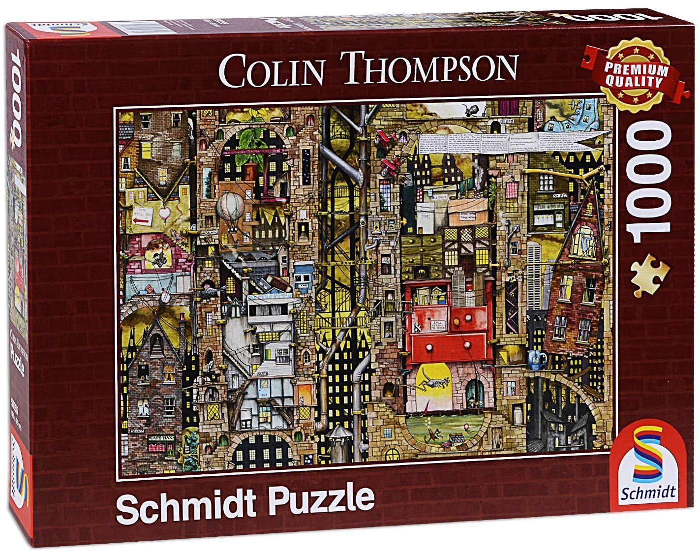 Пъзел Schmidt от 1000 части - Фантастичен град, Колин Томпсън - 1