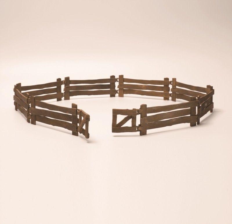 Фигурки Schleich от серията Аксесоари към Диви Животни: Дървена ограда - 1