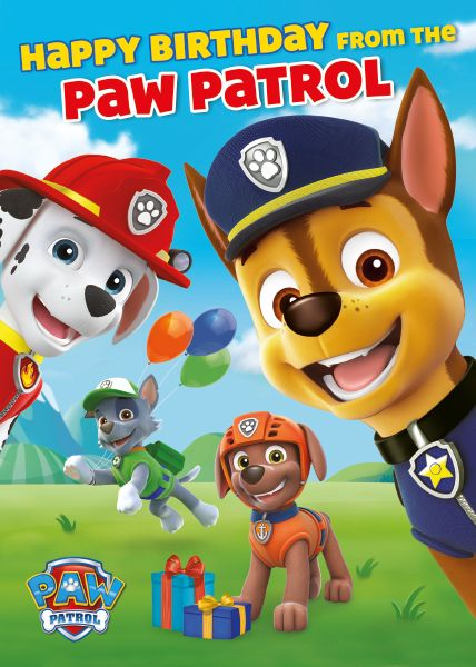 Музикална картичка Danilo - Paw Patrol: Birthday - 1