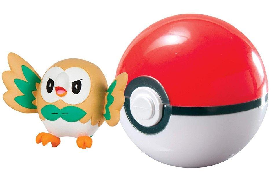 Екшън Poké топка Pokémon - Rowlet - 2