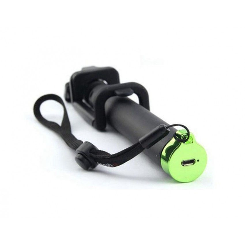Селфи стик Tellur Bluetooth M76BF - зелен - 2