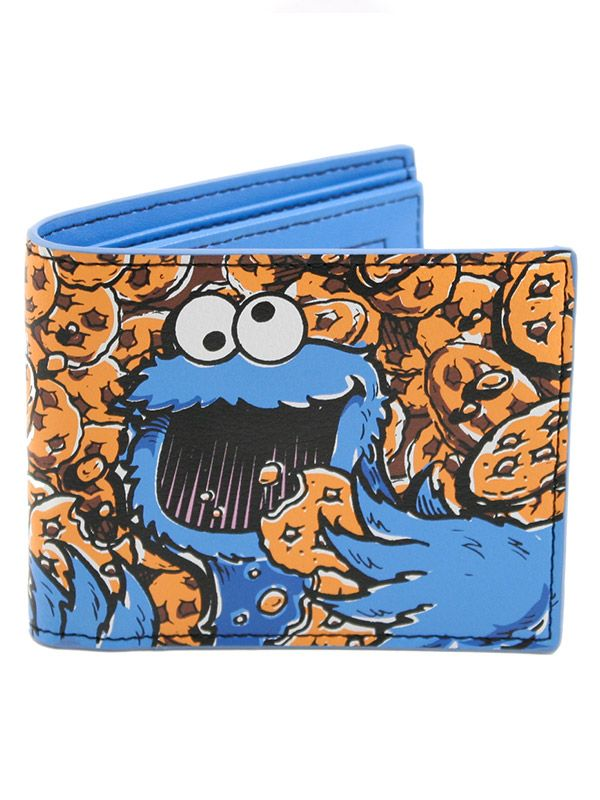 Sesame Street Cookie Monster портфейл - 1