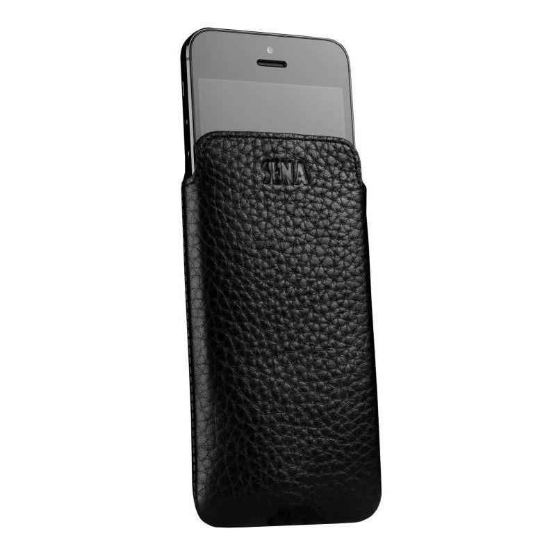 SENA Ultraslim Pouch за iPhone 5 -  кафяв - 2