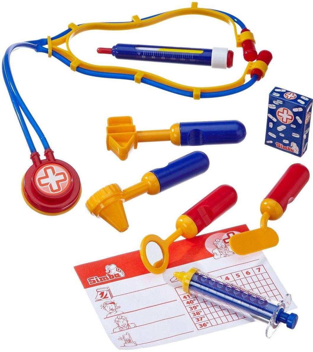 Докторски комплект Simba Toys - 10 ч. - 1