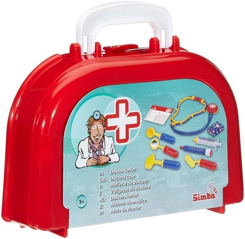 Докторски комплект Simba Toys - 10 ч. - 2