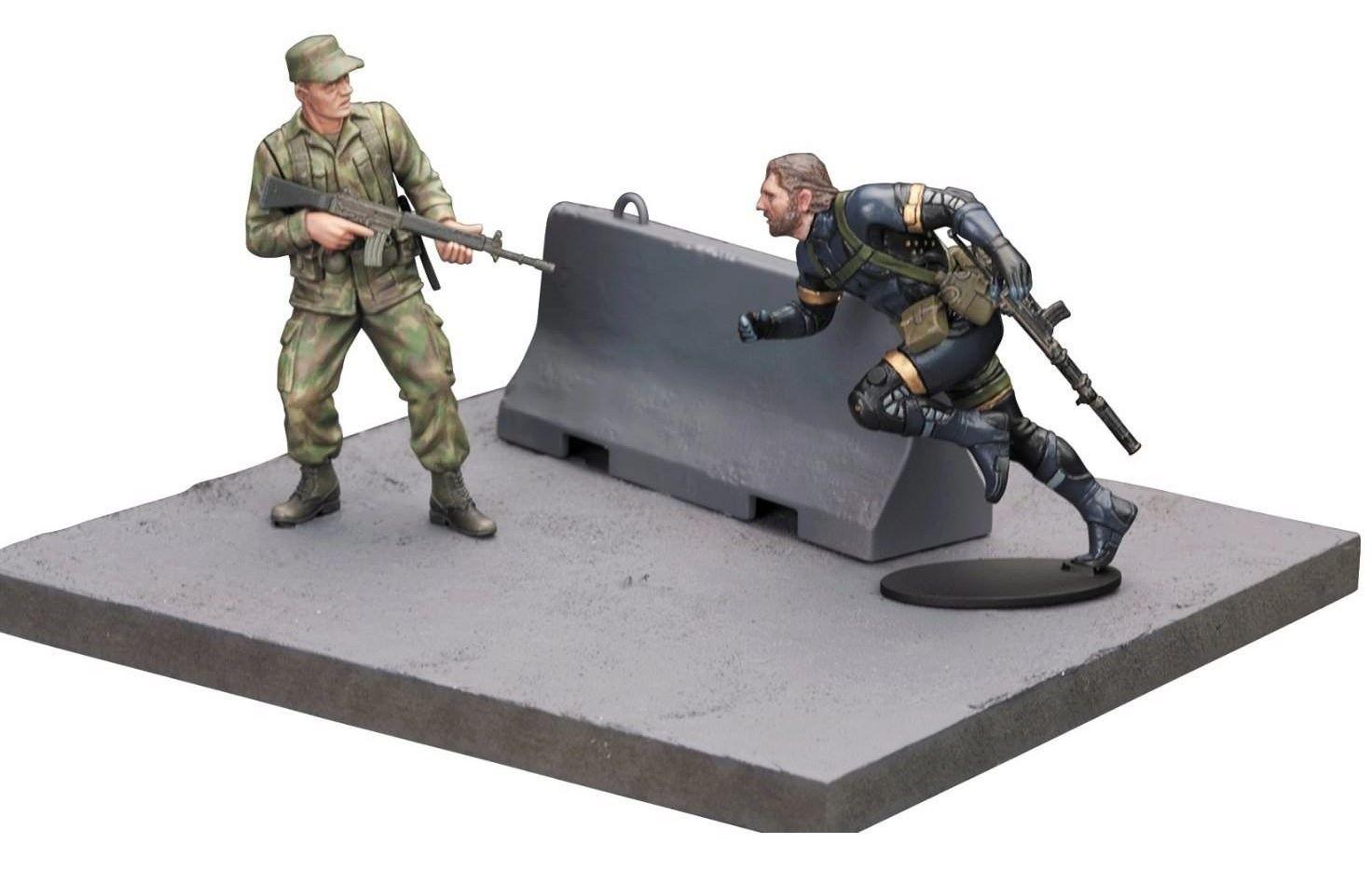 Сглобяем модел Kotobukiya Metal Gear Solid V - Ground Zeroes - 1