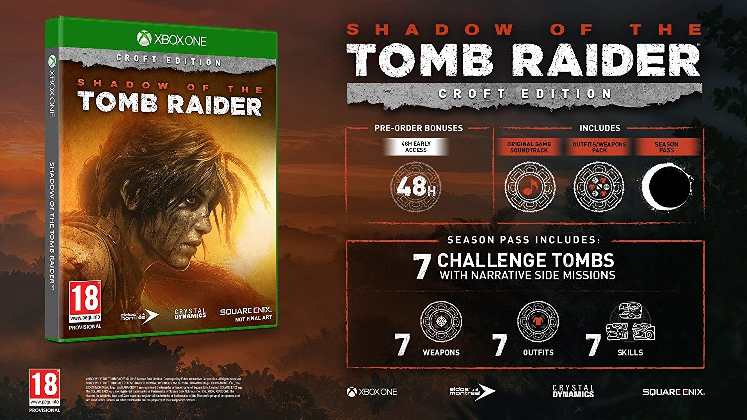 Shadow Of The Tomb Raider Croft Edition (Xbox One) - 5