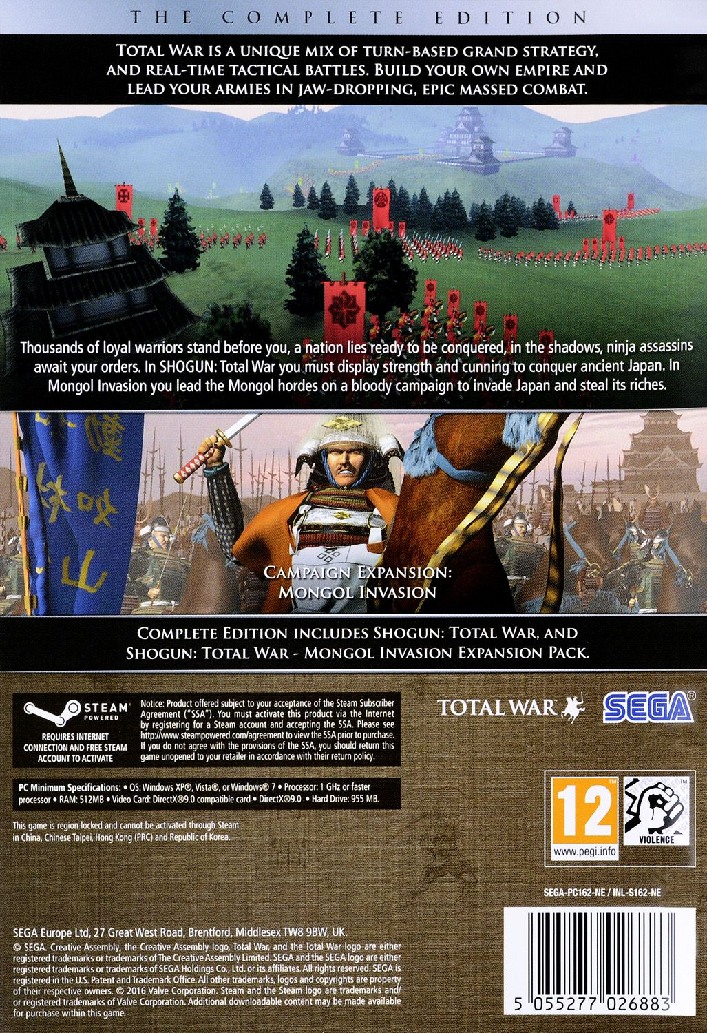 Shogun Total War The Complete Collection (PC) - 3