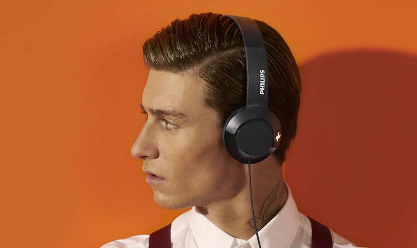 Слушалки Philips SHL4405BK - черни - 2
